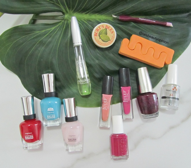 Top 7 Go To Summer Nail Polishes
