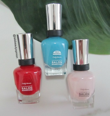 Top 7 Go To Summer Nail Polish - Sally Hansen