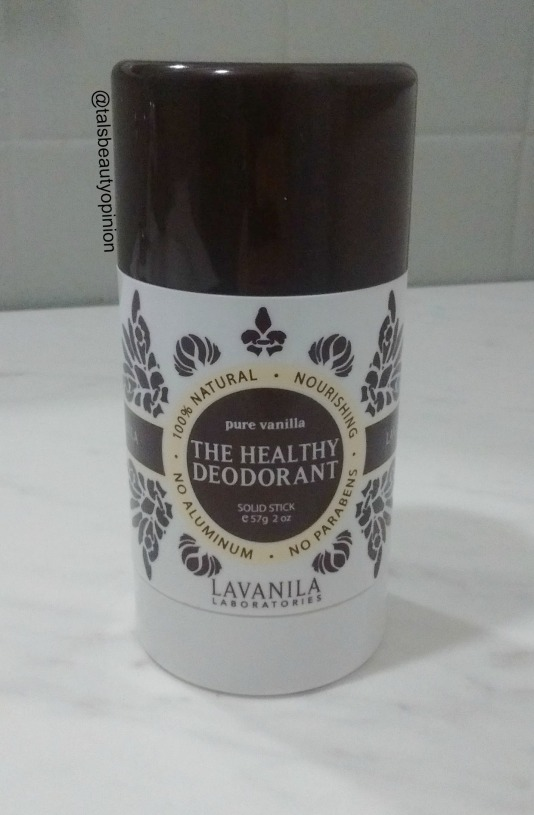 Lavanila: The Healthy Deodorant - Pure Vanilla