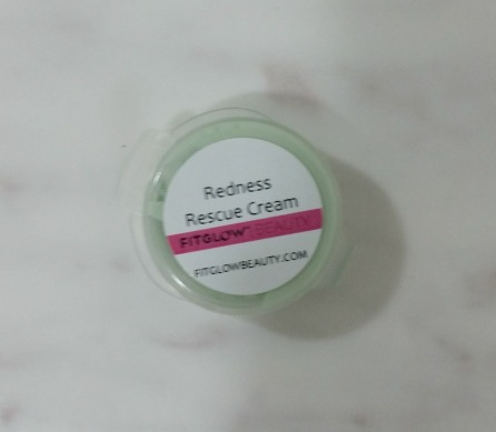 FitGlow Beauty: Redness Rescue Cream