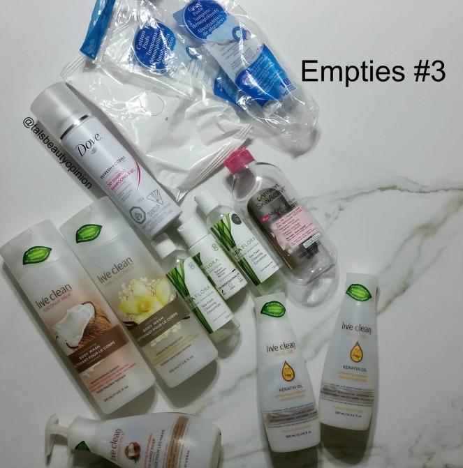 Empties #3!