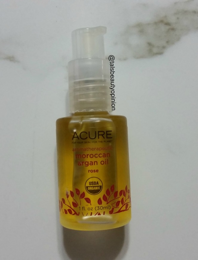Acure Aromatherapeutic Moroccan Argan Oil | Review