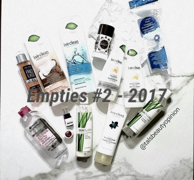 Empties #2 - 2017