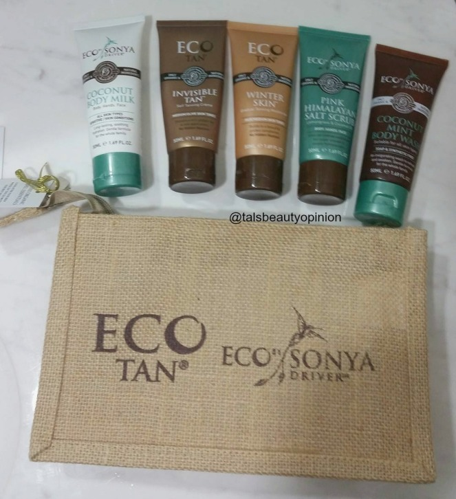 EcoTan the Natural Way! | Natural, Green Beauty Review