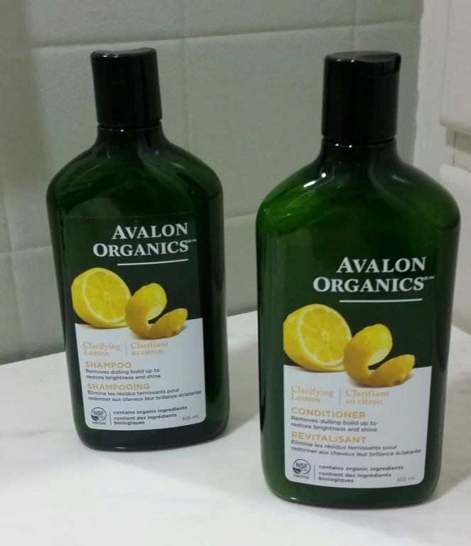 Avalon Organics Clarifying Lemon Shampoo & Conditioner - Frist Impressions |Natural, Green Beauty